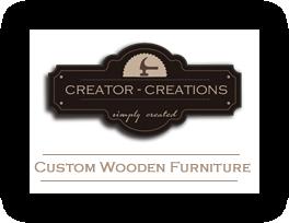 Creator Creations Custom Wooden Furniture Designs